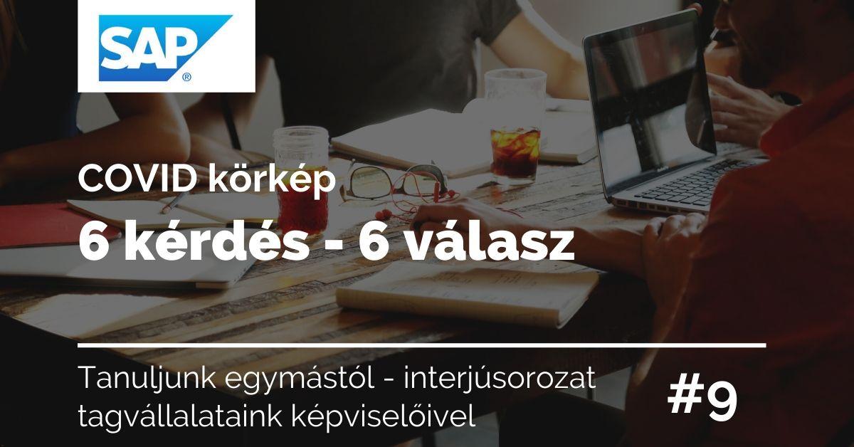 Covid körkép 6 kérdés – 6 válasz SAP Hungary #9