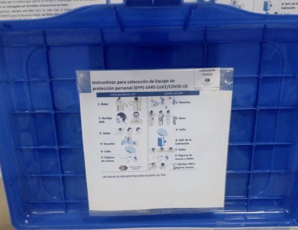Koronavírus tesztelés vizuális útmutató