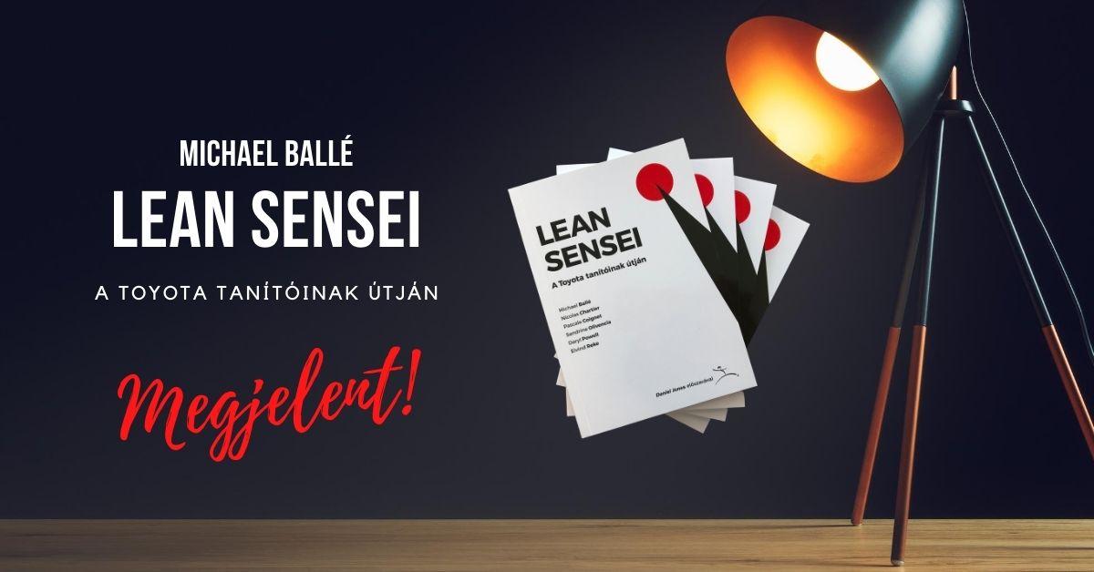 megjelent a lean sensei