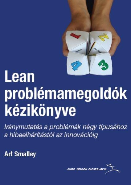 Lean problémamegoldók kézikönyve borító