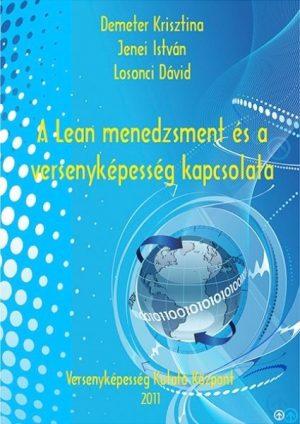 A lean menedzsment és a versenyképesség kapcsolata borító