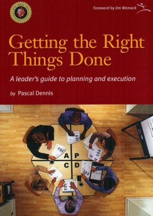 Getting the right things done cover
