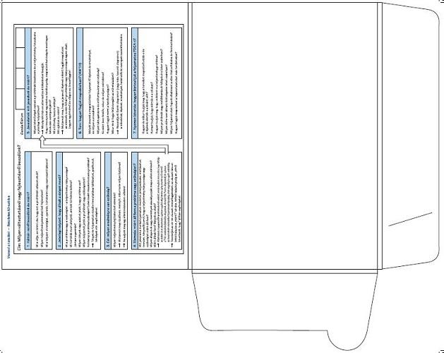A3 mappa belső borító