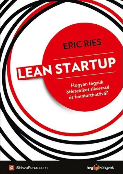 Lean startup borító
