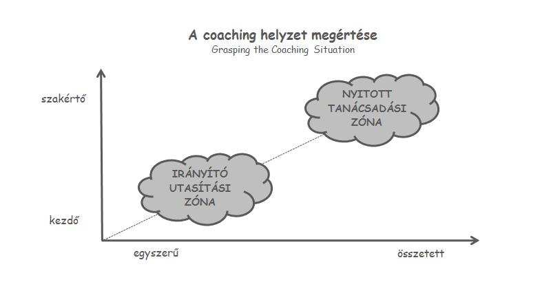 A coaching helyzet megértése ábra