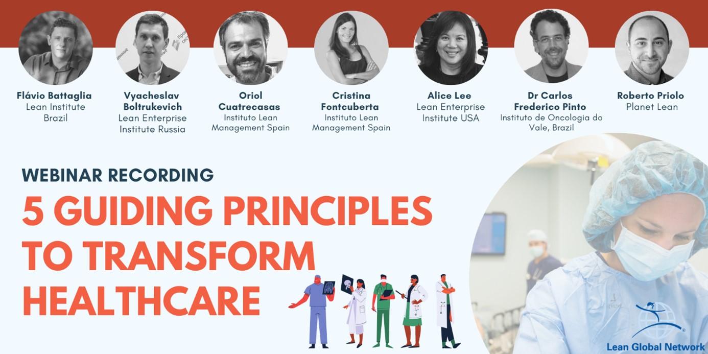 Lean Healthcare - 5 irányelv az egészségügy átalakításához