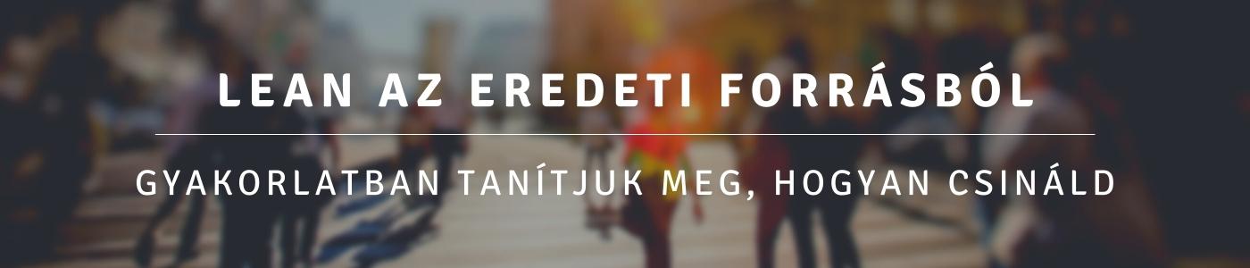 Lean Enterprise Institute Hungary - Lean az eredeti forrásból